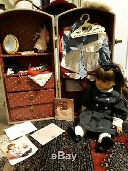 Pleasant Company Samantha American Girl Doll with Accessories lot