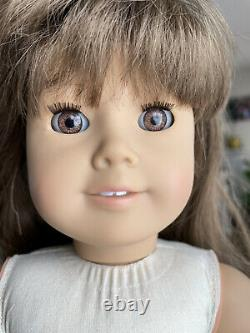 Pleasant Company White Body Samantha Doll Amber eyes