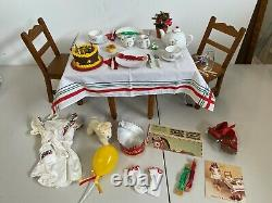 Pleasant company American girl retired Mollys birthday Tea Set Rare