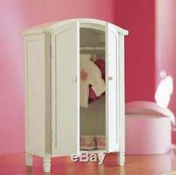 Pottery Barn Kids Madeline DOLL White Armoire for American Girl Dolls
