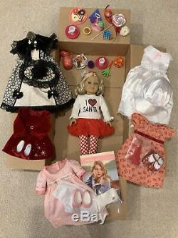 Pristine Condition American Girl Doll Caroline Abbott, 6 Outfits And More