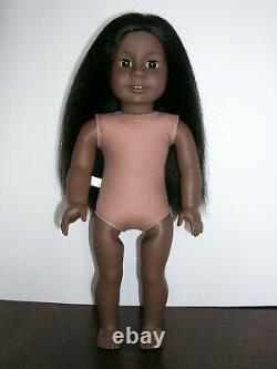 RARE #1 JLY African American Girl DOLL Black Hair Dark Skin ADDY MOLD Original