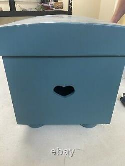 RARE American Girl Pleasant Company Blue Trunk Chest see pictures for wear