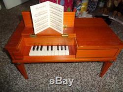 Rare American Girl Josefina English Square Piano W Music Pc