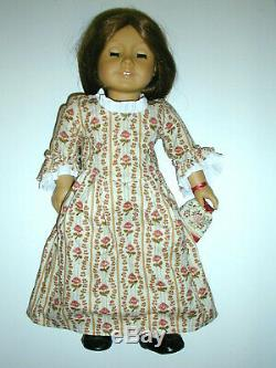 Retired American Girl Doll FELICITY with Bed & Bedding, Clothes & Hangers Lot
