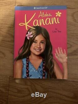 Retired American Girl Doll Kanani with Book