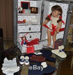Retired Early American Girl Molly Mcintire Original Doll Extensive Collection