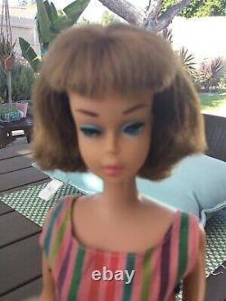 STUNNING Vintage Long Hair, High Color Barbie American Girl Rare CINNAMON hair