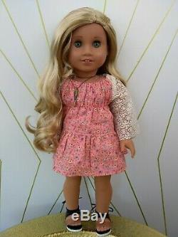 Taylor Custom OOAK American Girl Doll JLY 62 Sonali Tenney Wig Caroline Eyes
