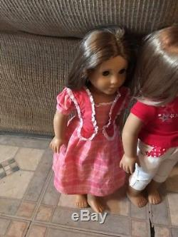 Two Authentic American Girl Dolls Marie Grace