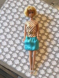 Vintage 1958 American Girl Barbie Doll Blonde withlight Color Lips