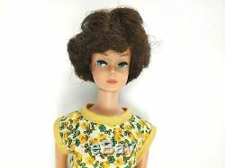Vintage 1960s Brunette Bubble Cut with American Girl Barbie Vintage Midge Doll Lot