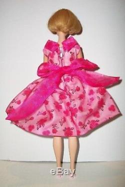 Vintage 1966 Variant Lips Barbie American Girl Bend Leg Doll In Ooak Modern Art