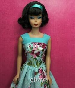 Vintage AMERICAN GIRL Brunette SIDEPART Japanese BARBIE DOLL BYAPRIL
