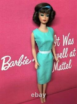 Vintage AMERICAN GIRL Brunette SIDE PART Japanese BARBIE DOLL BYAPRIL