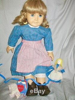 Vintage American Girl Kirsten Doll with 2 Outfits, Excellent Condition Retired