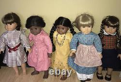 Vintage American Girl Lot 5 Dolls