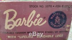 Vintage American girl Barbie doll Ash Blonde withbox