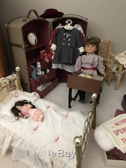 Vintage Original American Girl Samantha Doll Collection Lot Accessories Pleasant