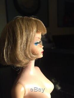 Vintage barbie american girl side part doll